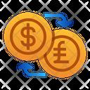 Money Exchange Dollar Pound Icon