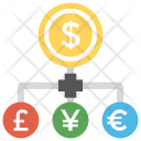 Money Exchange Transfer Icon