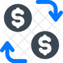 Cash Exchange Money Icon