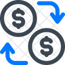 Cash Exchange Money Icon