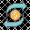 Money Exchange Finance Icon