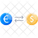 Exchangem Money Exchange Cash Flow Icon