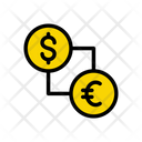 Dollar Exchange Euro Icon