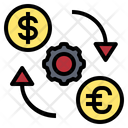 Exchange Coin Transfer Icon
