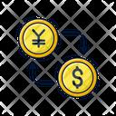Exchange Money Money Finance Icon