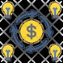 Money Investing Knowledge Icon