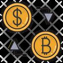 Transaction Money Transfer Icon