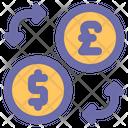 Exchange Transfer Sharing Icon