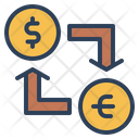 Money Exchange Currency Exchange Money Conversion Icon