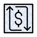 Exchange Dollar Transfer Icon