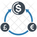 Currency Exchange Rate Money Transfer Icon
