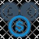 Coin Exchange Money Icon