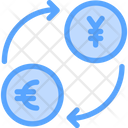 Exchange Euro To Yen Icon