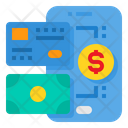 Exchange Cash Credit Card Icon