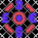 Money Exchange Seo Plan Icon