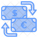 Money Exchange Currency Exchange Money Conversion Icon