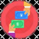 Financial Exchange Money Exchange Cash Exchange Icon