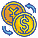 Money Exchange Currency Dollar Icon