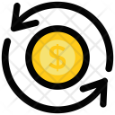 Money Exchange Foreign Icon