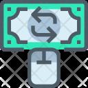 Online Exchange Money Icon