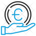 Expenses Hand Coin Icon