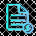 Money File Document File Icon