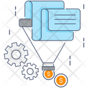Sales Funnel Data Extraction Data Filter Icon