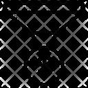Conversion Funnel Money Filter Digital Conversion Icon