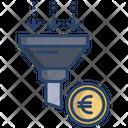 Money Filter Euro Filter Icon