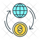 Coin Finance Flow Icon