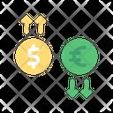 Money Flow Coin Money Icon