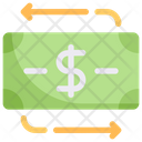 Business Marketing Money Flow Icon
