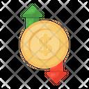 Money Flow Cash Flow Financial Flow Icon