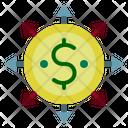 Money Flow Money Network Cash Flow Icon