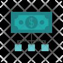 Dollar Network Money Icon
