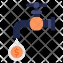 Flow Money Cash Icon