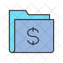 Money Dollar Folder Icon