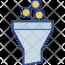 Coin Conversion Funnel Icon