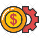 Money Gear Icon