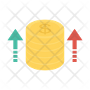 Growth Earning Increase Icon