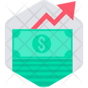 Money Increase Finance Icon