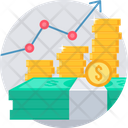 Money Increase Finance Icon