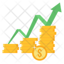 Money Growth Finance Icon