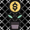 Growth Money Success Icon