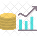 Money Growth Up Business Money Icon
