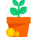 Money Growth Income Finance Icon