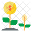 Money Growth Finance Cash Icon