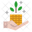 Money Growth Investment Budget Icon