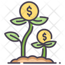 Imoney Growth Money Growth Investment Icon