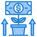 Growth Money Dollar Icon